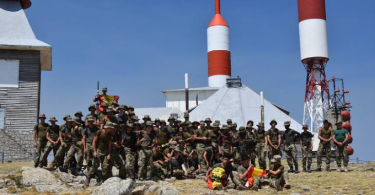 Excursion campamento militar
